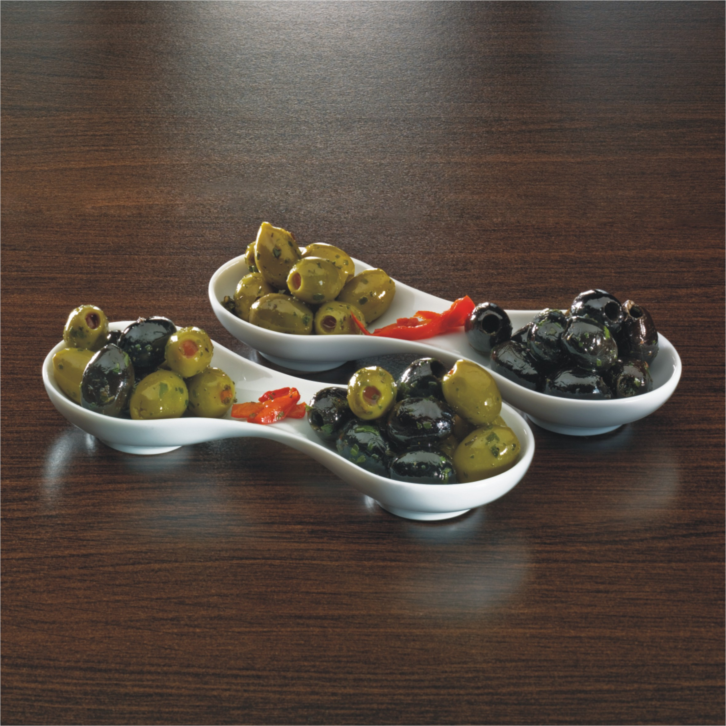 groene of zwarte olijven